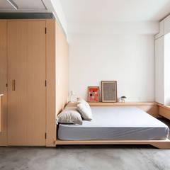 Apartamento Studio Batataes: Quartos  por ODVO Arquitetura e Urbanismo,Moderno