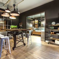 Store Design - Vegan Butcher:  Geschäftsräume & Stores von MM STUDIO - INTERIORS BERLIN