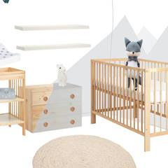 Gestaltung Babyzimmer:  Babyzimmer von Interior Design Solutions By Imma Galiana