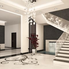 الممر والمدخل تنفيذ SPACES Architects Planners Engineers