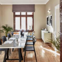 Cieszyńska 10: styl , w kategorii Domowe biuro i gabinet zaprojektowany przez PatyNowy