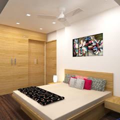 ห้องนอน by Midas Dezign