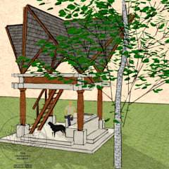 Tree House Design:  Houses by The Vrindavan Project