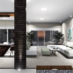 Rumah tinggal  by Trivisio Consultoria e Projetos em 3D