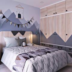 Dormitorios infantiles de estilo  por KIM - furniture