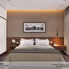 Dự án Biệt thự cao cấp:  Sàn by AnS - Architecture Style, Hiện đại