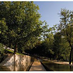 Jardim da Corredoura, Portalegre, Portugal: Jardins  por Margem Arquitectura Paisagista Lda