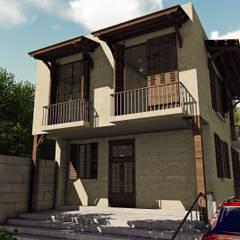 Villas by Hakan Özerdem - Mimari Proje Görselleştirme ve 3D Tasarım, Country