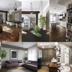 Pisos de estilo  por Viu' Architettura