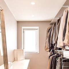 Dressing room by 봄디자인, Scandinavian