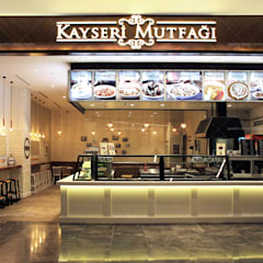 QUADRO DESIGN STUDIO – Kayseri Mutfağı:  tarz Merdivenler
