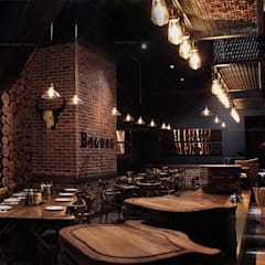 QUADRO DESIGN STUDIO – Beeves Steakhouse :  tarz Zeminler