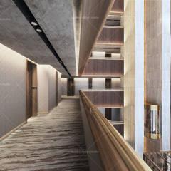 QUADRO DESIGN STUDIO – RIZE OTEL:  tarz Merdivenler