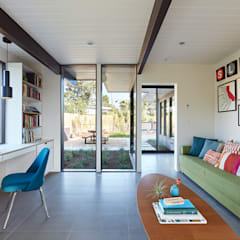 Mid-Mod Eichler Addition Remodel by Klopf Architecture: modern Study/office by Klopf Architecture