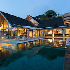 Villa Saengootsa Modern houses by Original Vision Modern