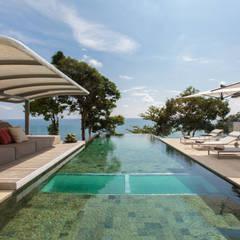 Villa Saengootsa : modern Pool by Original Vision
