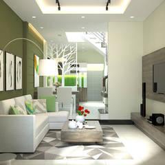 modern Living room by Công ty TNHH Xây Dựng TM – DV Song Phát
