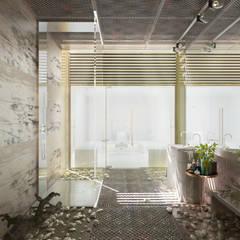 Итерьер SPA : Ванные комнаты в . Автор – ID project