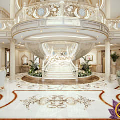 ​Best House designs by Katrina Antonovich:  Corridor & hallway by Luxury Antonovich Design,