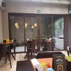 Camila Tiveron Arquitetura의  레스토랑