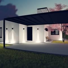 PROYECTO CASA S&C: Garajes de estilo  por efeyce,Moderno