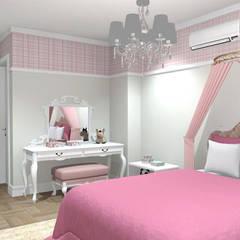 Girls Bedroom by Studio Bertoluci