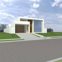 Residência térrea: Condomínios  por MoronCavallete - soluções em arquitetura