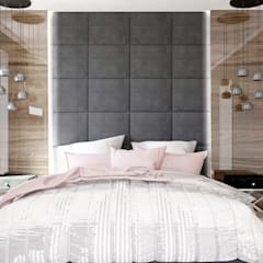 DOM W STYLU KLASYCZNYM – 170 m2: styl , w kategorii Sypialnia zaprojektowany przez VIVINO