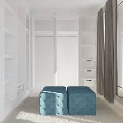 DOM W STYLU KLASYCZNYM – 170 m2: styl , w kategorii Garderoba zaprojektowany przez VIVINO