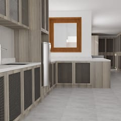 Penn Villa Umalas:  Dapur by Studio Tropis