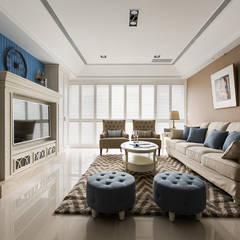 ห้องนั่งเล่น by 辰林設計