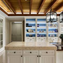用光譜寫的美式鄉村風:  廚房 by 辰林設計
