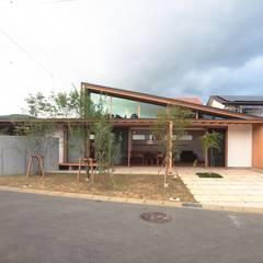 Ty-house: 長谷守保 建築計画が手掛けた木造住宅です。