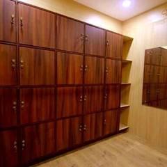 All Our Interior Works:  Media room by Bro4u Pvt Ltd