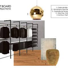 Suite Showroom - Douro Boutique Closets industriais por Catarina Piteira Pires - Design de interiores e de produto Industrial Metal