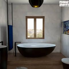 Suite Showroom - Douro Boutique Closets industriais por Catarina Piteira Pires - Design de interiores e de produto Industrial Mármore
