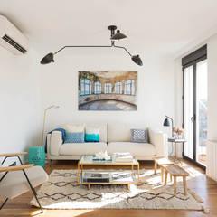 Ruang Keluarga oleh CABALLERO Fotografía de Arquitectura, Inmobiliaria e Interiorismo