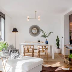 Fotografía Interiores: Salones de estilo  de CABALLERO Fotografía de Arquitectura, Inmobiliaria e Interiorismo