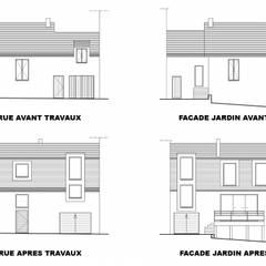 Renovation surelevation: Maisons de style de style Classique par Jean-Luc TURQUIN