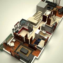 Casas multifamiliares de estilo  por KÜÇÜKTAŞ MÜHENDİSLİK İNŞAAT
