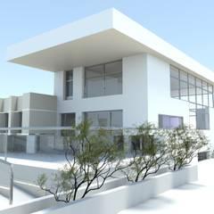 Sombrero: Casas rurales de estilo  de Estudio de Arquitectura e Interiorismo  José Sánchez Vélez. 653773806