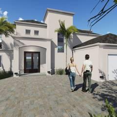 Proyecto Vivienda EG - Siete Soles Heredades Casas clásicas de Estudio A+I Clásico