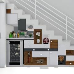 Escadas  por Trivisio Consultoria e Projetos em 3D