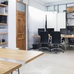 Estudio: Estudios y despachos de estilo  de Eseiesa Arquitectos