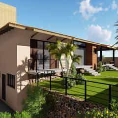Residência NAP: Casas familiares  por SERARTE  ENGENHARIA