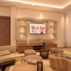 Living room by MAD DESIGN