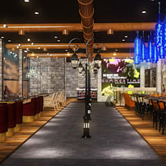 RESTAURANT PROJECT HIGHLIGHTS BY MAD DESIGN:  Multi-Family house by MAD DESIGN
