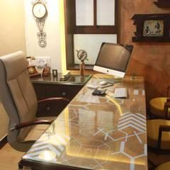 Oficinas y Comercios de estilo  por Dezinebox, Rural
