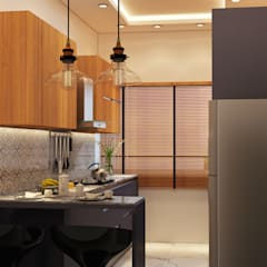 RESIDENCE SINGLE FAMILY PROJECT BY MAD DESIGN:  Kitchen by MAD DESIGN