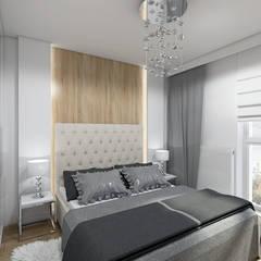 NIEOCZYWISTY GLAMOUR: styl , w kategorii Sypialnia zaprojektowany przez Creoline